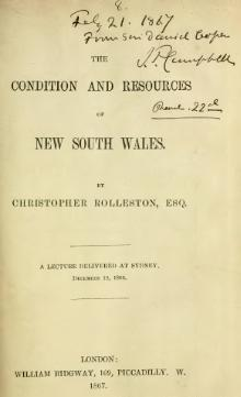 The Condition and Resources of New South Wales.djvu