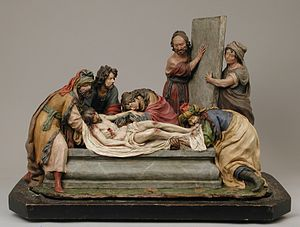 Luisa Roldán - The Entombment of Christ (1701), MET
