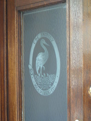 The Family (club) - Image: The Family club entrance door