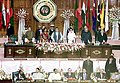 The Foreign Ministers of SAARC Countries signing agreed minutes of 12th SAARC Summit in presence of the Prime Minister Shri Atal Bihari Vajpayee and the other Heads of Governments at the conclusion of the Summit in Islamabad on.jpg