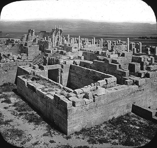 ملف:The Forum, Tebessa, North Africa..jpg