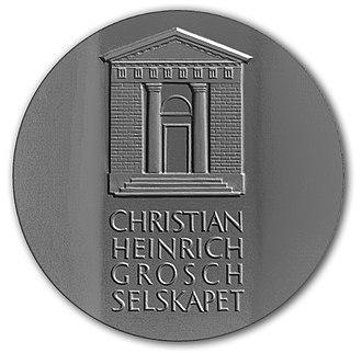 Christian Heinrich Grosch - Grosch Medal