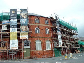 Barton-upon-Humber - The former head office of Elswick Hopper under conversion into flats (2006)