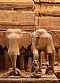 The Kailaśa temple Cave 16 elephant heads.jpg