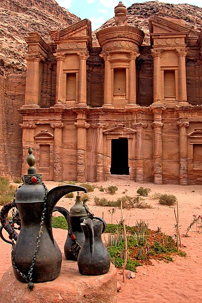 399px The Monastery (Al Dier), Petra