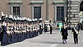 The President, Shri Pranab Mukherjee inspecting the Guard of Honour, at Stockholm, in Sweden on May 31, 2015.jpg