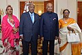 The President, Shri Ram Nath Kovind during the state banquet hosted in honour of him by the President of Djibouti, Mr. Ismail Omar Guelleh, at Presidential Palace, in Djibouti on October 04, 2017.jpg