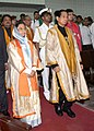 The President, Smt. Pratibha Devisingh Patil at the 46th Convocation of the Indian Institute of Technology, Bombay, in Mumbai on August 8, 2008.jpg