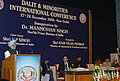 The Prime Minister, Dr. Manmohan Singh addressing at the inauguration of the International Conference of Dalits and Minorities, in New Delhi on December 27, 2006.jpg