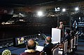 The Prime Minister, Shri Narendra Modi addressing at the inauguration of the first edition of Khelo India School Games, at the Indira Gandhi Indoor Stadium, in New Delhi on January 31, 2018.jpg