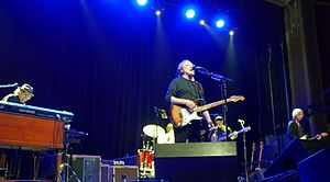 Barry Goldberg - Goldberg, left, performing with The Rides