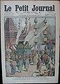 The Royal Funeral Procession of King Chulalongkorn - Le Petit Journal 6th November 1910.jpg