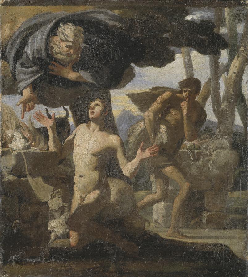 The Sacrifice of Abel. Study