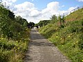 The Spen Valley Greenway approaching the M62 bridge, Cleckheaton - geograph.org.uk - 526603.jpg