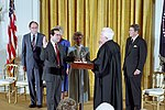 The Swearing-In Ceremony for Antonin Scalia.jpg