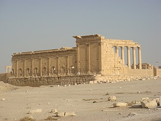 Temple of Bel - The Temple of Bel's exterior