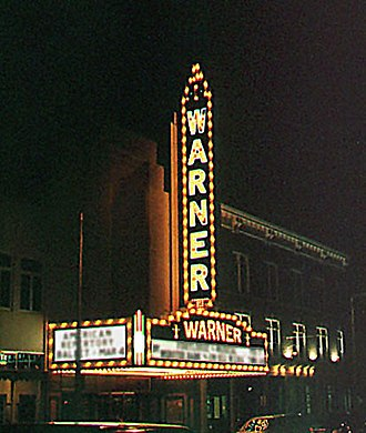 Torrington, Connecticut - The Warner Theatre in Torrington, CT.
