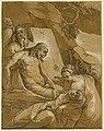 The entombment - Raff. da Reggio invent. Andrea Andreano Mant. intagliator. LCCN2008678777.jpg