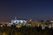 The knesset illuminated