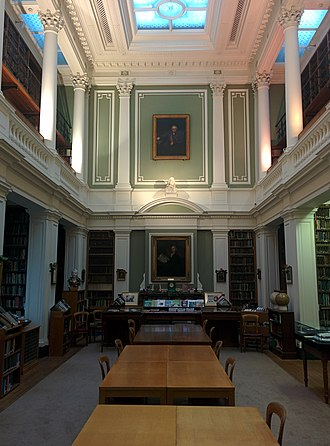 Linnean Society of London - The library of the Linnean Society, Burlington House