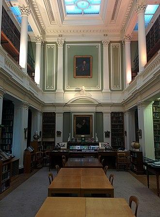 Linnean Society of London - The library of the Linnean Society, Burlington House