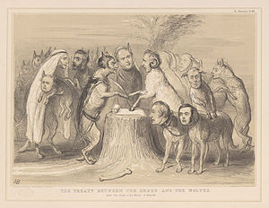 English: THE TREATY BETWEEN THE SHEEP AND THE ...