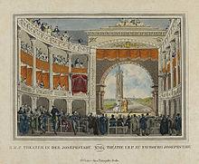 Theater in der Josephstadt, hier fanden 1834–1837 acht Kreutzer-Uraufführungen statt (Quelle: Wikimedia)