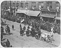 Theodore Roosevelt's presidential parade viewed from a nearby building, Seattle, May 23, 1903 (WARNER 237).jpeg