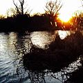 This is a sunset in the henares river.jpg