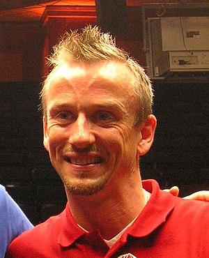 Thomas Engert - Image: Thomas Engert at the World Pool Trickshot Masters 2007 Nr.1