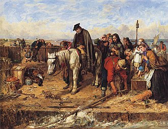 1865 in Scotland - Image: Thomas Faed The Last of the Clan