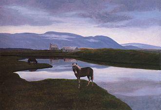 Þórarinn B. Þorláksson - Þingvellir