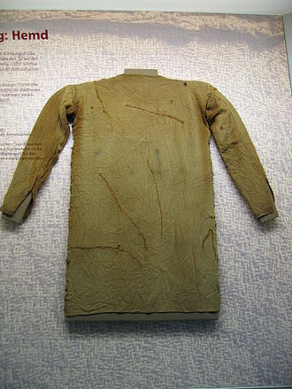 Tunic - Germanic tunic of the 4th Century, A.D. found at the Thorsberg moor