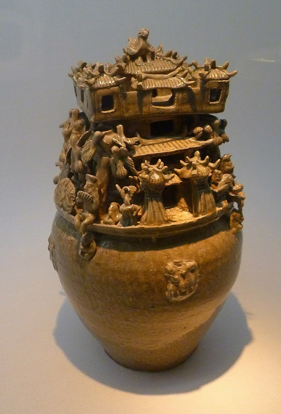 Three Kingdoms Wu - funeral urn