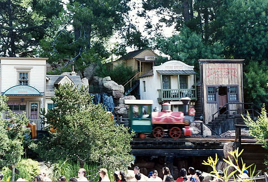 Le village de Thunder Mountain.