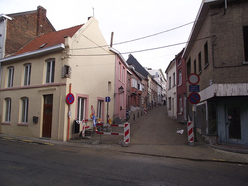 "The ""kleerkopersstraat"" in Tienen."