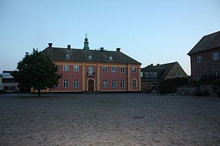 Ängelholm Place in Skåne, Sweden