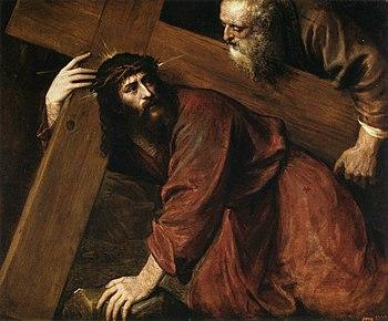 jesus carregando a cruz wikipédia a enciclopédia livre