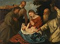 Tiziano, Francesco Vecellio, Adoration of the Child among saints.jpeg