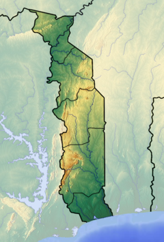 Togo location map Topographic.png