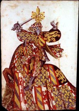 Philipp der Gute, Gründer des Ordens vom Goldenen Vlies, f.149v