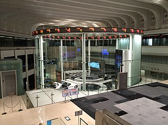 Tokyo Stock Exchange - Image: Tokyo Stock Exchange Interior 201505