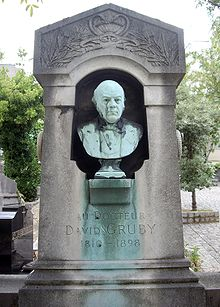 Tombe David Gruby, Cimetière Saint-Vincent, Paris.jpg