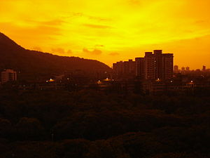 Anushakti Nagar - Anushakti Nagar during sunset