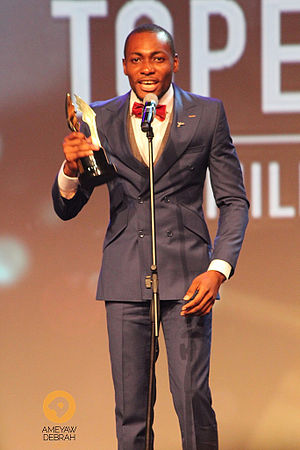 Tope Tedela - Tedela at the 2014 Africa Magic Viewers Choice Awards