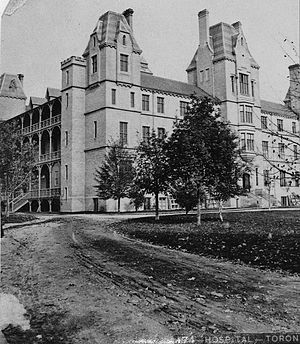 William Hay (architect) - Toronto General Hospital in 1868.