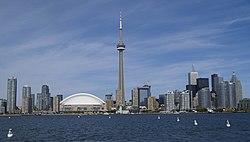 250px Toronto skyline in September 2008