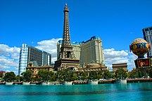 内华达州-重要城鎮-Torre Eiffel (Las Vegas)