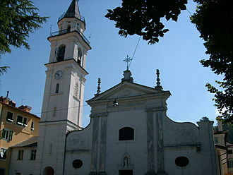Torriglia - Church of Sant'Onorato in Torriglia.