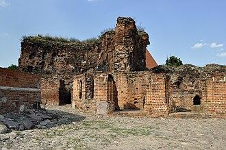 Toruń Castle - Ruins of the Toruń Castle today
